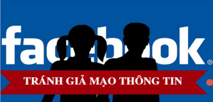 Xử lý nghiêm mạo danh Facebook của người khác