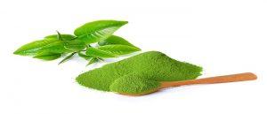 Công bố bột trà xanh matcha